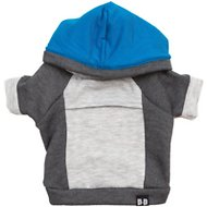 penn + pooch The Emerson Dog Hoodie, Deep Blue, XX-Large