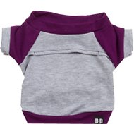 penn + pooch The Kellan Dog Crewneck, Deep Purple, X-Small