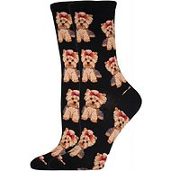Socksmith Women's Yorkie Crew Socks, Black