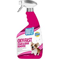 OUT! Oxy Fast Activated Pet Stain & Odor Remover, 32-oz bottle