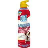 OUT! Advanced Pet Urine Blaster Aerosol Spray, 17-oz bottle
