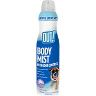 OUT! Clean Cotton Body Mist Dog Grooming Cologne, 6.3-oz bottle
