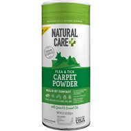 Natural Care Flea & Tick Carpet Powder, 9-oz