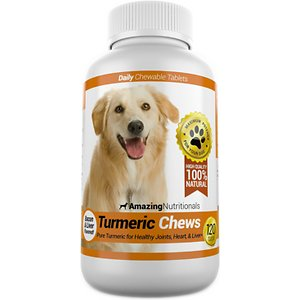 Amazing Nutritionals Turmeric Chews Daily Dog Supplement