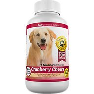 Amazing Nutritionals Cranberry Chews Daily Dog Supplement, 120-count