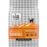 I and Love and You Naked Essentials Chicken & Duck Recipe Grain-Free Dry Cat Food, 6-lb bag