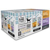 I and Love and You Cluckin' Good & Gobble it Up Stew Grain-Free Combo Pack Canned Dog Food, 13-oz, case of 6