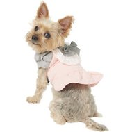 Dobaz Winter Dog Dress, Pink, Small