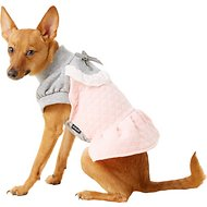 Dobaz Winter Dog Dress, Pink, Medium