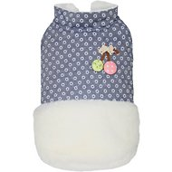 Dobaz Flowers Dog Jacket, Small