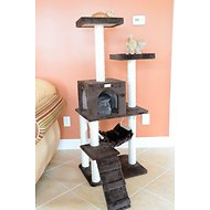 Armarkat 57-inch GleePet Cat Tree with Ramp