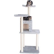 Armarkat 57-in GleePet Cat Tree, Silver Gray