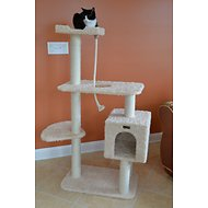 Armarkat 57-in Cat Tree, Beige