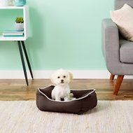 Dog Gone Smart Repelz-It Lounger Dog & Cat Bed, Espresso, X-Small