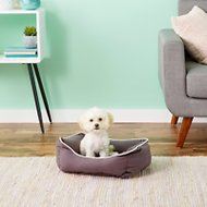 Dog Gone Smart Repelz-It Lounger Dog & Cat Bed, Pebble Grey, X-Small