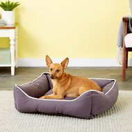 Dog Gone Smart Repelz-It Lounger Dog & Cat Bed, Pebble Grey, Medium