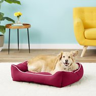 Dog Gone Smart Repelz-It Lounger Dog & Cat Bed, Berry, Large