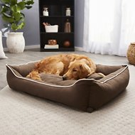 Dog Gone Smart Repelz-It Lounger Dog & Cat Bed, Espresso, X-Large
