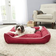 Dog Gone Smart Repelz-It Bolster Cat & Dog Bed w/Removable Cover