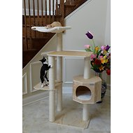 Armarkat 54-in Premium Pinus Wood Cat Tree