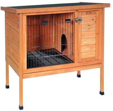 Prevue Pet Products Rabbit Hutch Small Chewy Com