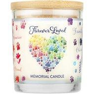 Pet House Furever Loved Memorial Natural Soy Candle, 8.5-oz jar