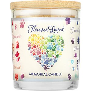 Pet House Furever Loved Memorial Natural Soy Candle