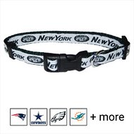 Pets First New York Jets Dog Collar, X-Large