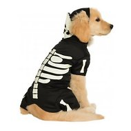Rubie's Costume Company Glow In The Dark Skeleton Dog Costume, Large