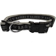 Pets First Oakland Raiders Dog Collar, X-Large