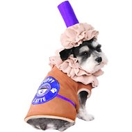 Rubie's Costume Company Iced Coffee Dog Costume, Medium