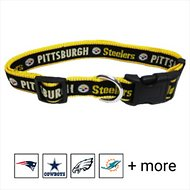 Pets First NFL Dog Collar, Pittsburgh Steelers, X-Large