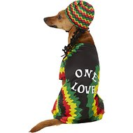 Rubie's Costume Company Rasta Dog & Cat Costume, Medium