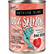 Against the Grain Nothing Else Salmon Canned Grain-Free Dog Food, 11-oz, case of 12