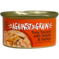Against the Grain Tuna Toscano with Tomato & Salmon Dinner Grain-Free Wet Cat Food
