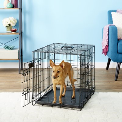 Terrific Elitefield 3 Door Folding Dog Crate With Divider 24 In Machost Co Dining Chair Design Ideas Machostcouk