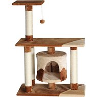 EliteField Cat Tree & Scratching Post, 38-in, Brown/Beige