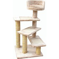 EliteField Cat Tree & Scratching Post, 40-in, Beige