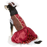 Rubie's Costume Company Pirate Girl Dog & Cat Costume, X-Large