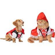 Rubie's Costume Company Red Riding Hood Dog & Cat Costume, X-Small