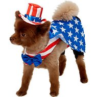 Rubie's Costume Company Uncle Sam Dog Costume, Large