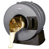 Litter Spinner Cat Litter Box, Recycled Gray
