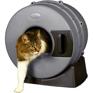 Litter Spinner Cat Litter Box for Small Cats up to 10 lbs