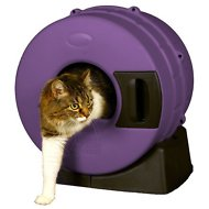 Litter Spinner Cat Litter Box, Passion Purple