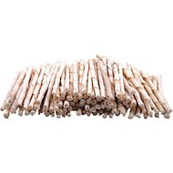 Top Dog Chews Rawhide Natural Twist Sticks Dog Treats, 100 count