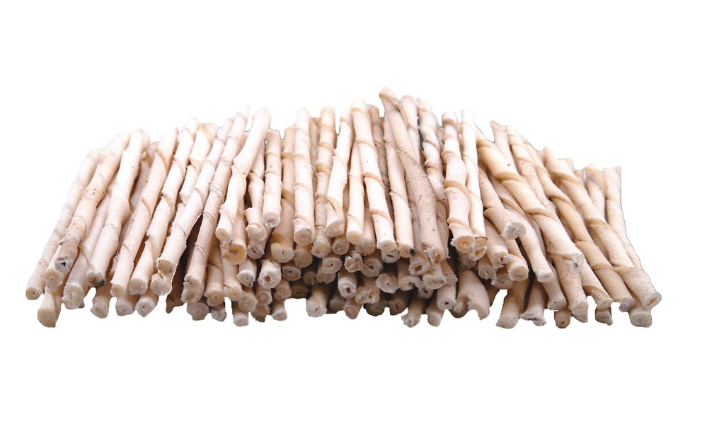 top dog chews rawhide natural twist sticks dog treats 100 count. Black Bedroom Furniture Sets. Home Design Ideas