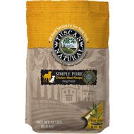 Tuscan Natural Simply Pure Chicken Meal Limited Ingredient Dry Dog Food, 15-lb bag