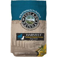 Tuscan Natural Harvest Turkey & Chicken Dry Dog Food, 5-lb bag