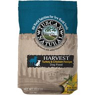 Tuscan Natural Harvest Turkey & Chicken Dry Dog Food, 28.6-lb bag