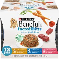 Purina Beneful IncrediBites Variety Pack Canned Dog Food, 3-oz, case of 12